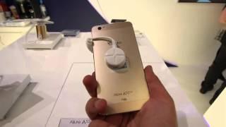 getlinkyoutube.com-Condor : test de 3 mobile haut de gamme Allure A100/A55 Slim / A9 plus
