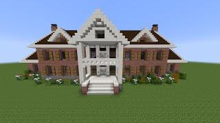 getlinkyoutube.com-Como Hacer Mansion Clasica De Ladrillo en Minecraft (PT1)