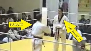getlinkyoutube.com-Taekwondo VS Karate - Knockout 2014
