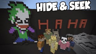 Minecraft Xbox Hide and Seek - DC Universe