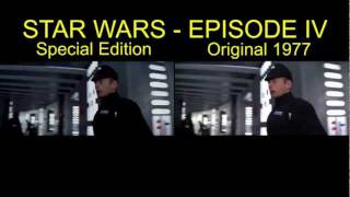 getlinkyoutube.com-Star Wars IV Special Edition Comparison Death Star Battle