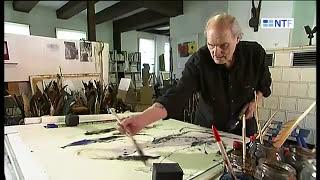 getlinkyoutube.com-Heinz Scharr - Kuenstler, Maler, Bildhauer ; artist, sculptor, Illustrator
