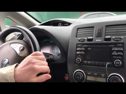 Сел за руль электро-мобиля Nissan Leaf после 4 лет бЭз руля