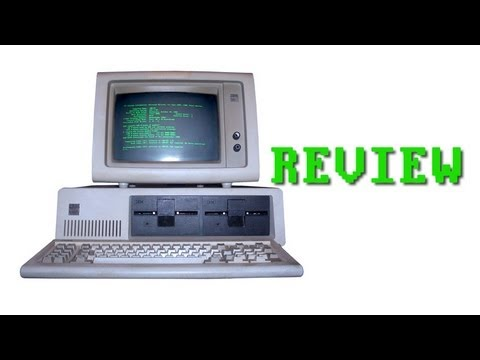 IBM PC 5150 Computer System Review - Lazy Game Reviews