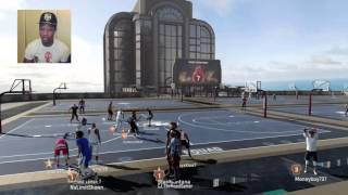 getlinkyoutube.com-NBA 2K16 MyPARK LiveStream ! - Hoopin' With NoLimitShawn And Shawn !