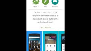 getlinkyoutube.com-[TUTO] Comment transformer son Android en IPhone