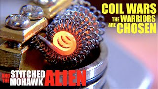 getlinkyoutube.com-COIL WARS | Meet the Warriors | How to Build a Stitched Mohawk Alien Coil