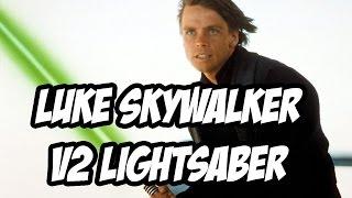 getlinkyoutube.com-Luke Skywalker V2 Lightsaber Project Progress, Weathering and templates!