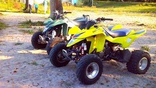 getlinkyoutube.com-Police trying to catch ATV ! - Observations adventures #7 - Przygody podczas jazdy quadem