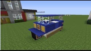 getlinkyoutube.com-Minecraft : สอนการสร้างรถตุ๊กๆ 1.7.2 - Rivth28