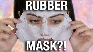 getlinkyoutube.com-OMG 😱 WEIRD RUBBER FACE MASK?!