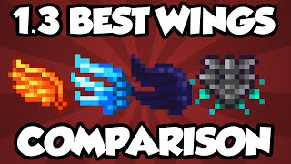 getlinkyoutube.com-NEW Terraria 1.3 Wings - FULL WING COMPARISON OF NEW WINGS! - Best Terraria Wings Comparison