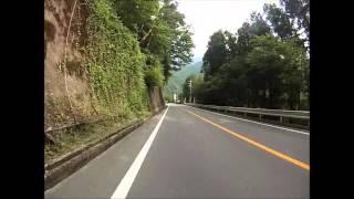 getlinkyoutube.com-【完全版】クロスバイクで攻めるダイナミックな坂道 ~道志みち~  Doshimiti Downhill by bicycle