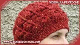 getlinkyoutube.com-Boina de Croche Diva - 1º Parte - Aprendendo Crochê