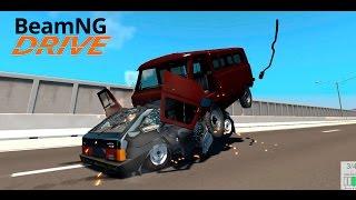 getlinkyoutube.com-Beam NG DRIVE - Буханка vs 2109
