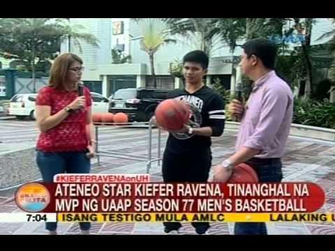 UB: Ateneo star Kieffer Ravena, tinanghal na MVP ng UAAP Season 77 men's basketball