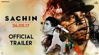 Sachin A Billion Dreams | Official Trailer | Sachin Tendulkar