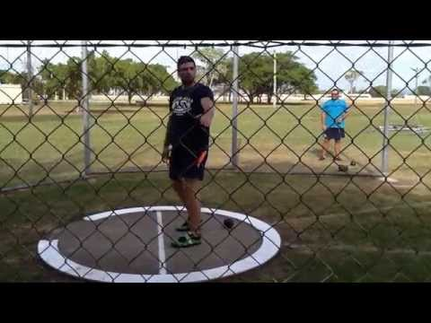 Hammer throw basics  the standing throw
