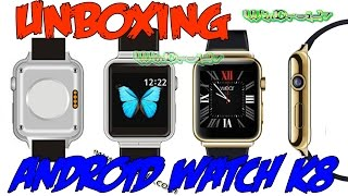 getlinkyoutube.com-Unboxing | K8 Smart Watch Phone - Reloj Inteligente, Android 4.4.2, 3G, Camara, Dual Core...