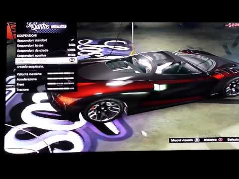Modificare l auto GTA 5 X Dewol
