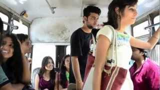 getlinkyoutube.com-What Girls and boys Doing in bus - A journey to remember