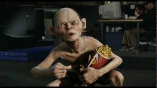 Gollum recieves an award