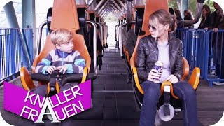 getlinkyoutube.com-Mit Mama in der Achterbahn & Ballett - Knallerfrauen mit Martina Hill | Die 3. Staffel in SAT.1