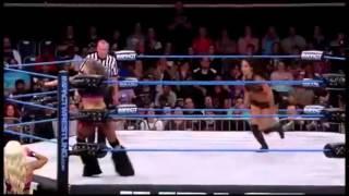 getlinkyoutube.com-Belly Punch in the wrestling: Velvet Sky