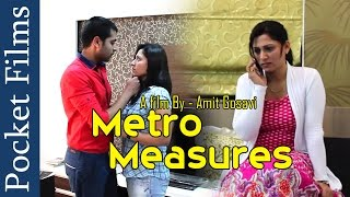 getlinkyoutube.com-Metro Measures - Indian HouseWife Affair with Someone | Pocket Films