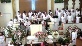 "getlinkyoutube.com-Faith Temple Choir at First Lady Home going service ""I Shall Wear a Crown"""