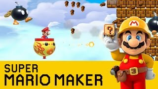 getlinkyoutube.com-Super Mario Maker -  Bomb Bounce