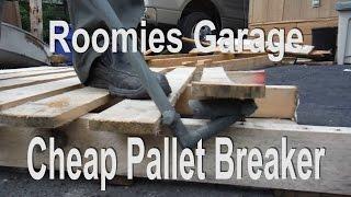 getlinkyoutube.com-Cheap Pallet breaker