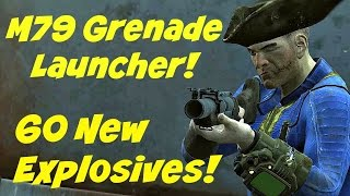 getlinkyoutube.com-M79 Grenade Launcher and New Explosives: Grenade Expansion Pack 2 | A Fallout 4 Mod |