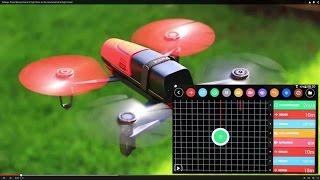 getlinkyoutube.com-Settings Parrot Bebop Drone & Flight Plan on iPad and Android & Flight-Video !