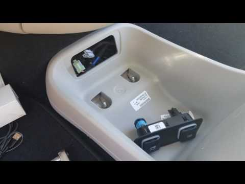 Changing center console on 2017 Crysler Pacifica