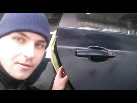 Как снять ручку двери с opel