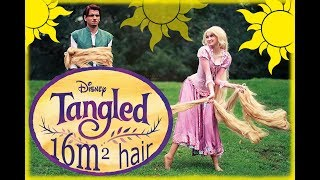 getlinkyoutube.com-Tangled - Life has begun! (very long wig)