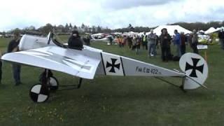 getlinkyoutube.com-Eindecker from grass strip aviation  tell  01285 760117