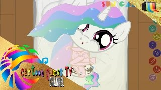 getlinkyoutube.com-Joy Pony episode 8: princess Celestia just laughs and sleep on the floor!