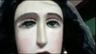 Virgin Mary statue weeps