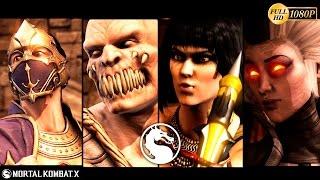 getlinkyoutube.com-Mortal Kombat X Gameplay Baraka, Rain, Tanya, Sindel NPC's Mod 1080p 60FPS
