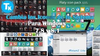 getlinkyoutube.com-Cambia los Iconos de tu sistema de Windows 7,8 y 8.1 de una manera segura // [con 7tsp] ¡Haz Clic!