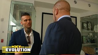 getlinkyoutube.com-Corey Graves receives a two-year WWE contract: NXT TakeOver: R Evolution, Dec. 11, 2014