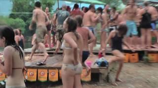 Tubing in Laos (and the broken skull) (HD)