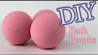 getlinkyoutube.com-DIY Bath Bomb - How To Make Bath Bombs