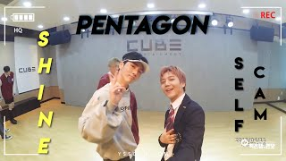 PENTAGON SHINE Practice [Action Cam Ver]