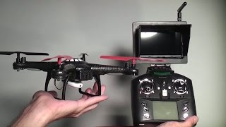 getlinkyoutube.com-: V686 Review : 5.8 GHz Quad Rotor with FPV system from JJRC