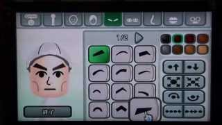 "getlinkyoutube.com-Wii 似顔絵チャンネルで ガンダムをつくってみた(Mii How to make ""GUNDAMU"""