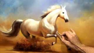 """getlinkyoutube.com-Южаков урок 19 """"Пишем Коня"""" живопись маслом"""