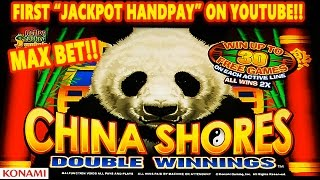 getlinkyoutube.com-*JACKPOT HANDPAY* - CHINA SHORES DOUBLE WINNINGS |MAX| MEGA HUGE SLOT WIN! - Slot Machine Bonus